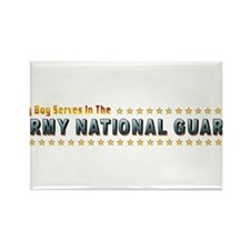 My Army Guard Boy Rectangle Magnet