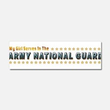 My Army Guard Girl Car Magnet 10 x 3