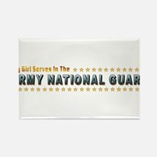 My Army Guard Girl Rectangle Magnet