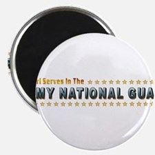 """My Army Guard Girl 2.25"""" Magnet (100 pack)"""
