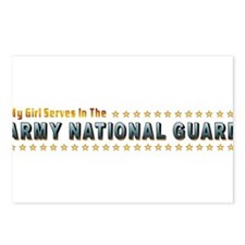 My Army Guard Girl Postcards (Package of 8)