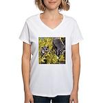 Flowers #9 Women's V-Neck T-Shirt