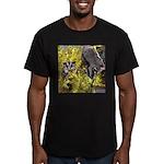 Flowers #9 Men's Fitted T-Shirt (dark)