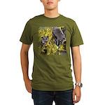Flowers #9 Organic Men's T-Shirt (dark)