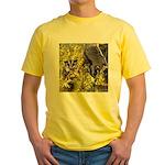 Flowers #9 Yellow T-Shirt