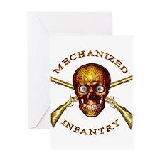 Mechanized Infantry Greeting Card