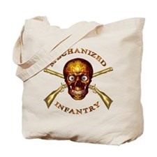 Mechanized Infantry Tote Bag