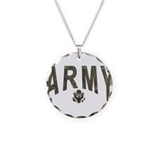 Army & Eagle Necklace