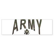 Army & Eagle Bumper Sticker