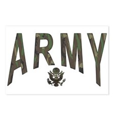 Army & Eagle Postcards (Package of 8)