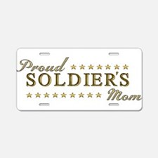 Soldier's Mom Aluminum License Plate