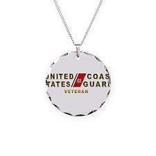 USCG Veteran Necklace
