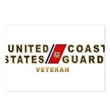 USCG Veteran Postcards (Package of 8)