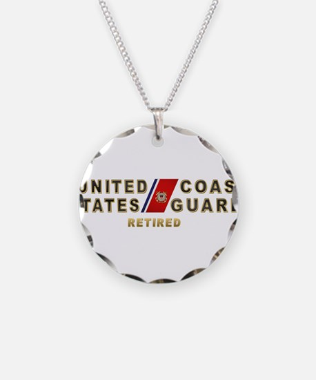 USCG Retired Necklace