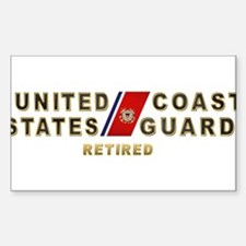USCG Retired Decal