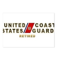 USCG Retired Postcards (Package of 8)