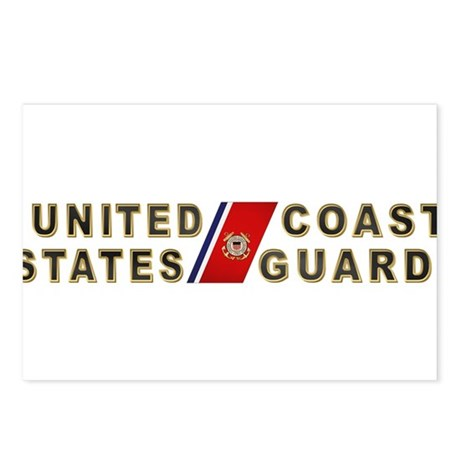 USCG Postcards (Package of 8)