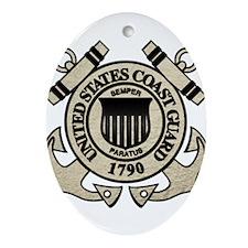 USCG Ornament (Oval)
