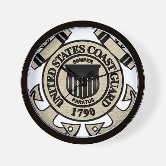 USCG Wall Clock