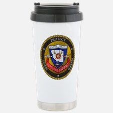 11th District USCG Stainless Steel Travel Mug