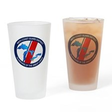 9th District USCG Drinking Glass