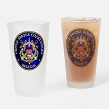 USCG Reserve Drinking Glass