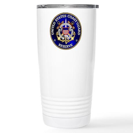 USCG Reserve Stainless Steel Travel Mug