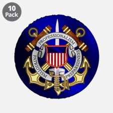 """USCG Reserve 3.5"""" Button (10 pack)"""