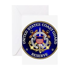 USCG Reserve Greeting Card