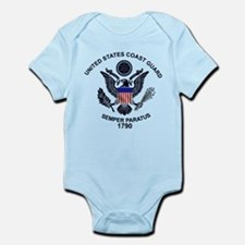 USCG Flag Emblem Infant Bodysuit