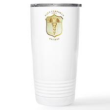 Corpsman USMC Retired Travel Mug