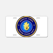 Navy Medical Corps Aluminum License Plate