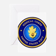 Navy Medical Corps Greeting Card