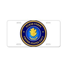 Navy Nurse Corps Aluminum License Plate