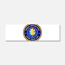 Navy Medical Services Car Magnet 10 x 3