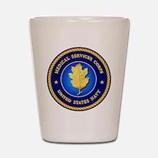 Navy Medical Services Shot Glass