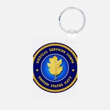 Navy Medical Services Keychains