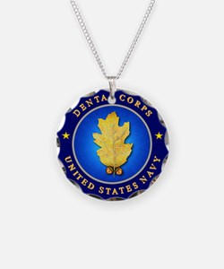 Navy Dental Corps Necklace