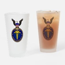 Navy Corpsman Drinking Glass