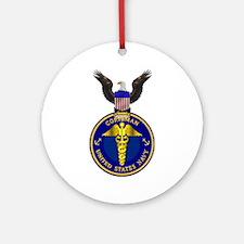Navy Corpsman Ornament (Round)