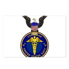 Navy Corpsman Postcards (Package of 8)