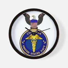 Navy Corpsman Wall Clock