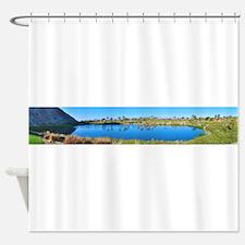 SilverRockHole17 Shower Curtain