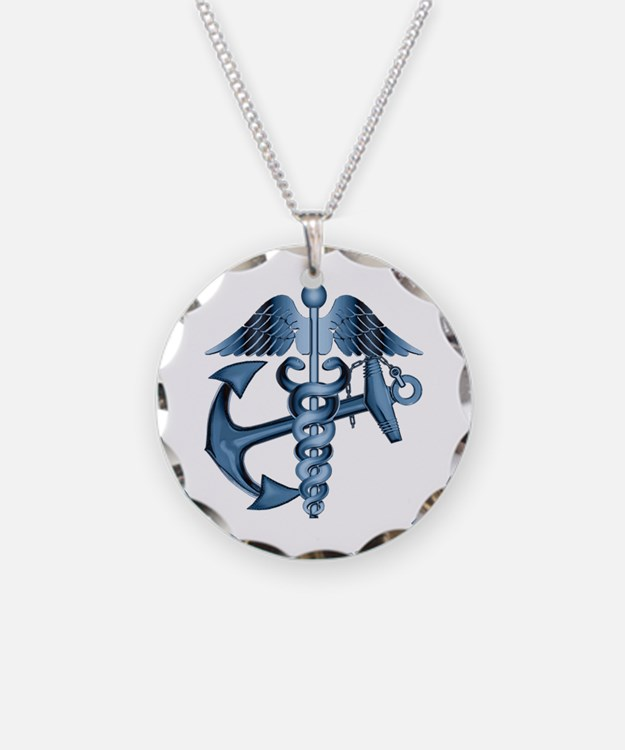 U.S. Navy Corpsman Necklace