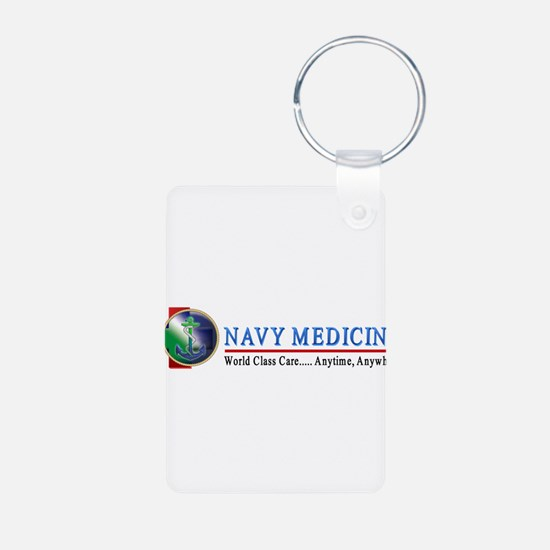 Navy Medicine Keychains