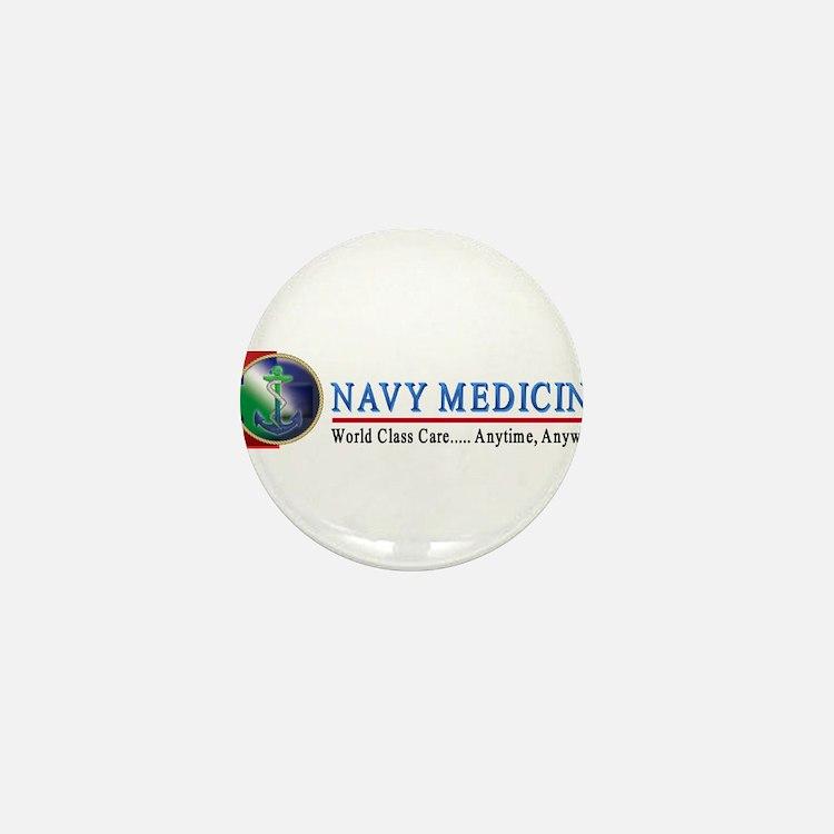 Navy Medicine Mini Button