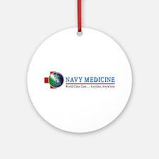 Navy Medicine Ornament (Round)