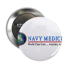 "Navy Medicine 2.25"" Button"