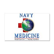 Navy Medicine Car Magnet 20 x 12