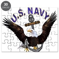 US NAVY (Anchor & Eagle) Puzzle